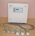 """Пост контроля напряжения электрической сети """"Крона-515"""" предназначен для контроля трехфазных напряжений и регистрации отклонений."""