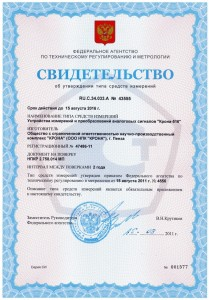 Регистратор аварийных процессов средство измерения