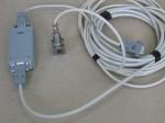"""Датчик вибрации для установки на оборудование, с адаптером для подключения к стенду контроля параметров электроприводного оборудования """"Крона-517"""""""