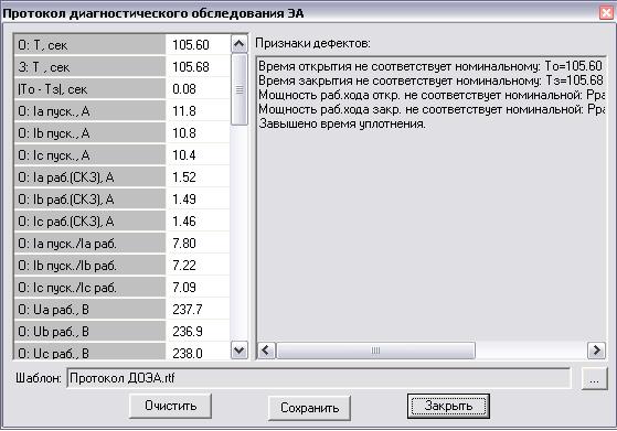 Крона-517 Диагностирование электроприводной арматуры