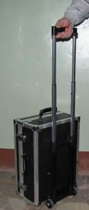Стенд диагностики электроприводной арматуры Крона-517М (вид при транспортировке)