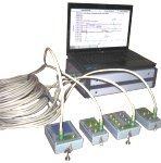 Система измерения параметров системы регулирования и защиты турбины (ноутбук, УСИ, разветвители и преобразователи датчиков различных типов)