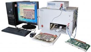 """Стенд """"Крона-704"""" для автоматизированного функционально-параметрического контроля и автоматизированной диагностики логических блоков из состава УКТС."""